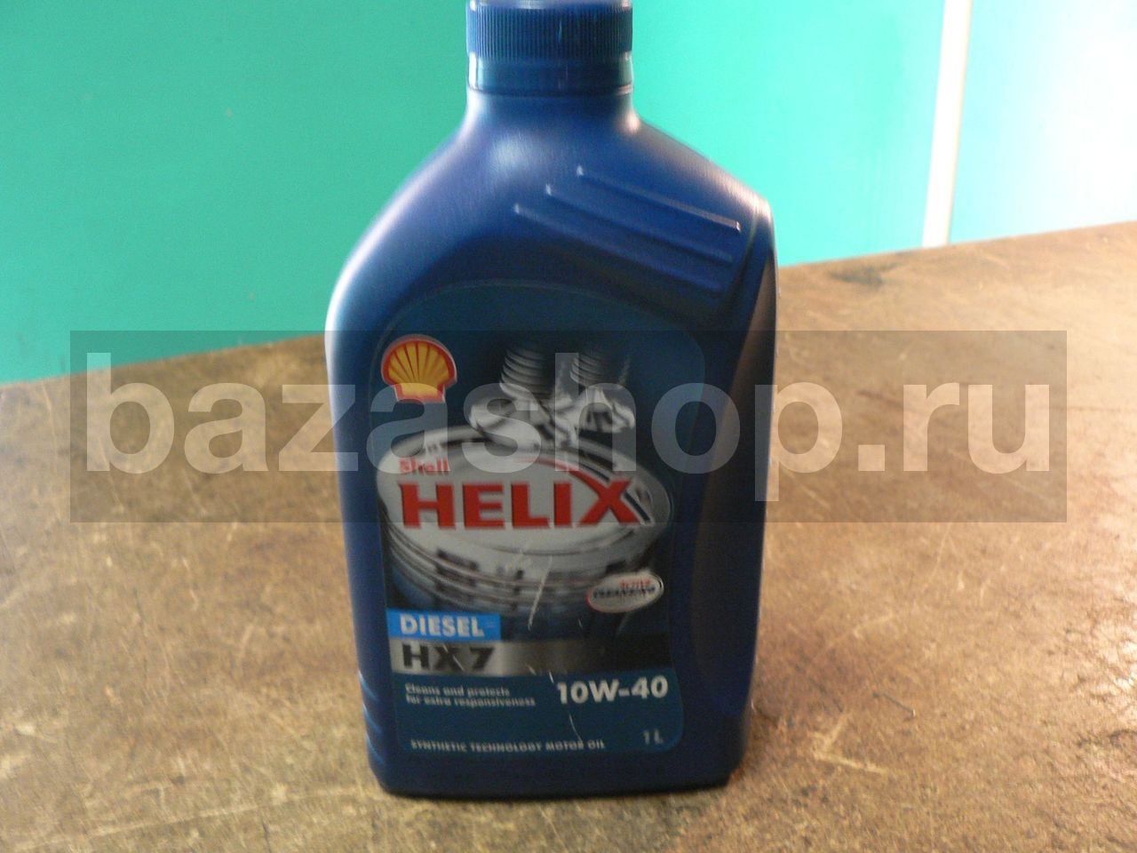 МАСЛО МОТОРНОЕ SHELL/Helix Diesel HX7 10W/40 (1л) / МАСЛО SHELL/Helix Diesel HX7 10W/40 (1л)